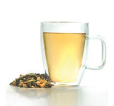 Grande tasse glass tea mug