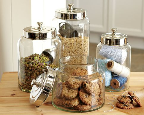 Glass canister WS