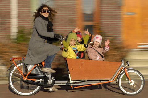Bakfiets pic from dutch city bikes