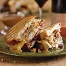Thanksgiving turkey panini