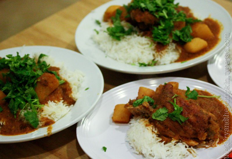 Vindaloo-Spiced Chicken Thighs With Coconut-Tomato Stew Recipes ...