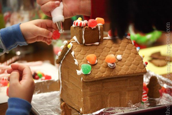 Gingerbread House The Nitty Gritty