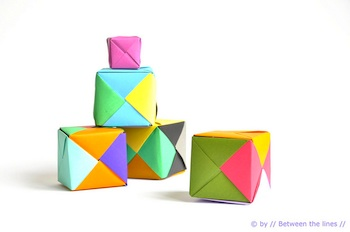 Crafty crow origami cubs from between the lines