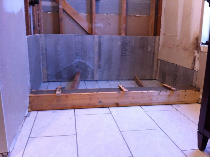 Setting a drainpain