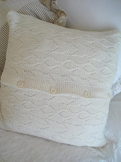 Sweater pillow thefarmersnest.com