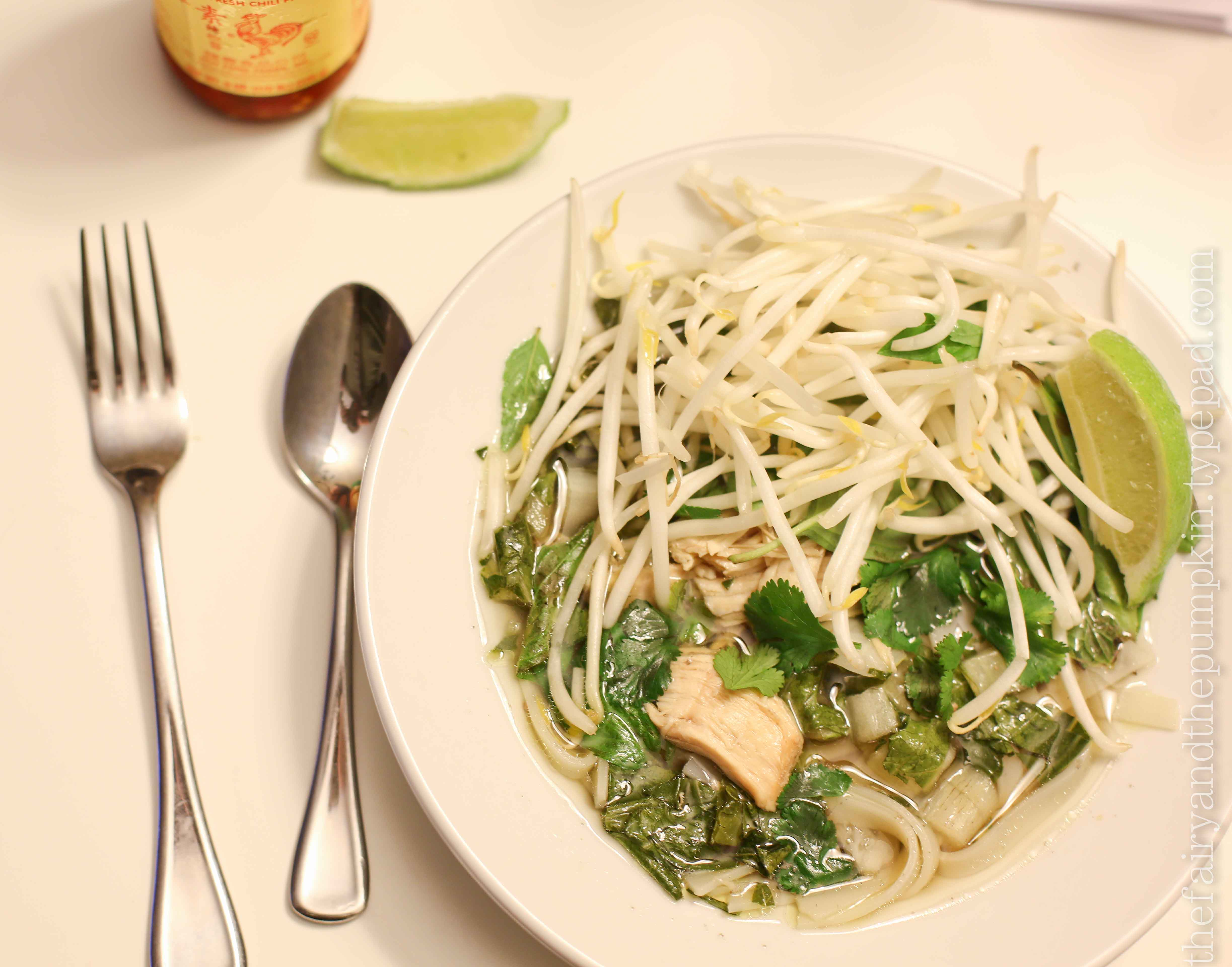 slow-cooker chicken pho - the nitty gritty