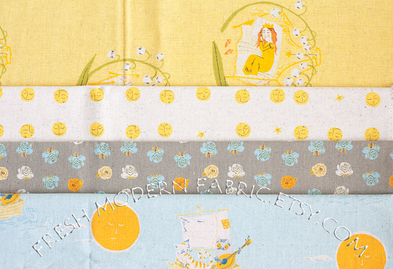 Heather ross far far away II for kokka fabrics