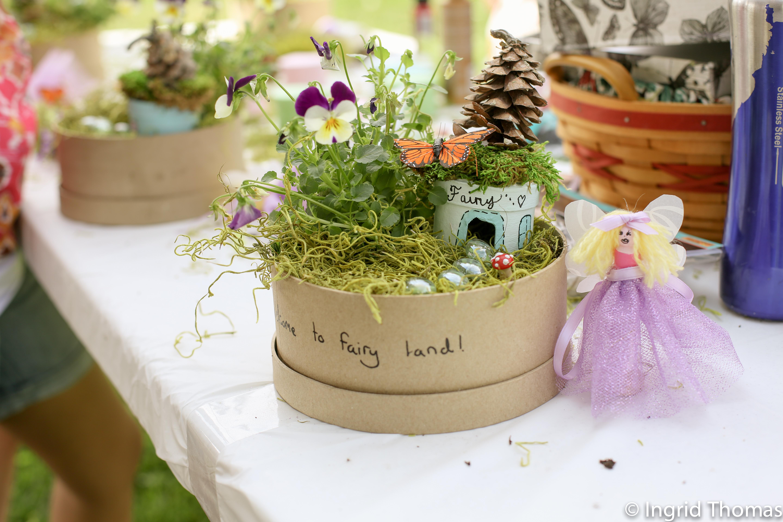 fairy garden party getingrid